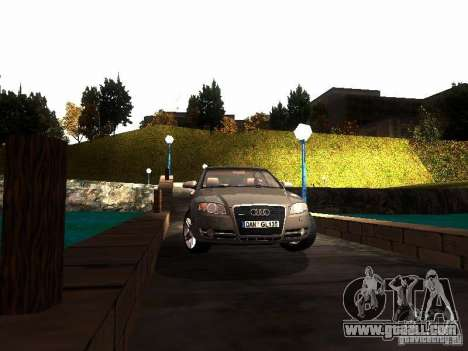 Audi A4 3.0 TDI Quattro 2005 for GTA San Andreas back view