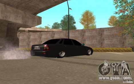 LADA priora light tuning v. 2 for GTA San Andreas back left view