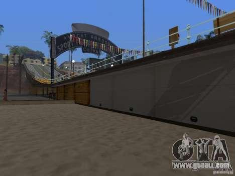 New Beach texture v2.0 for GTA San Andreas third screenshot