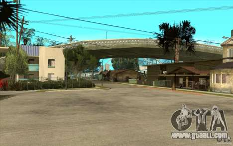 New Grove Street TADO edition for GTA San Andreas second screenshot
