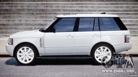 Range Rover Supercharged 2009 v2.0 for GTA 4 left view