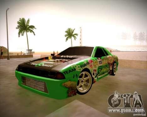 Elegy Toy Sport v2.0 Shikov Version for GTA San Andreas back view