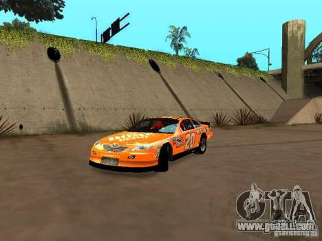 Toyota Camry Nascar Edition for GTA San Andreas left view