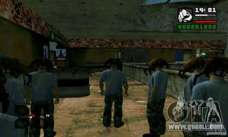 Headcrab for GTA San Andreas forth screenshot