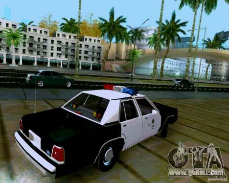 Ford Crown Victoria LTD LAPD 1991 for GTA San Andreas left view
