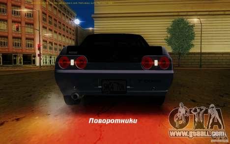 Nissan Skyline GT-R R32 1993 Tunable for GTA San Andreas wheels