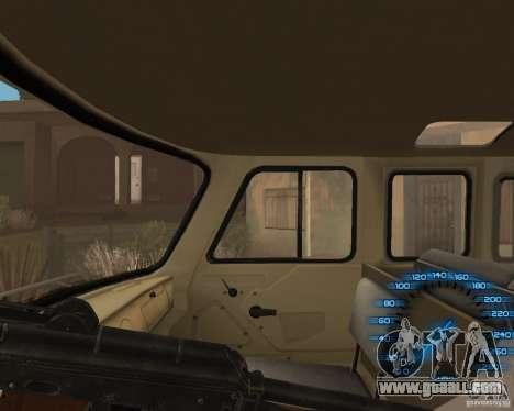 Behind the wheel for GTA San Andreas third screenshot