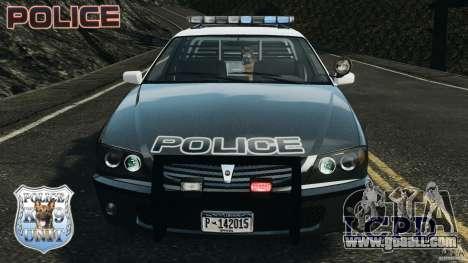 LCPD K9 Unit for GTA 4 inner view
