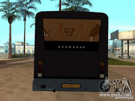 Volzhanin 5270 for GTA San Andreas inner view