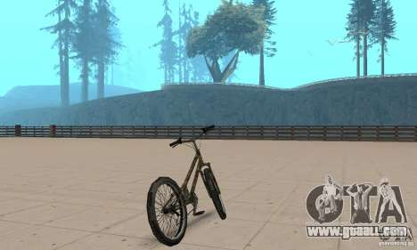 Trial bike for GTA San Andreas left view