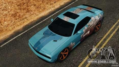 Dodge Rampage Challenger 2011 v1.0 for GTA 4 upper view