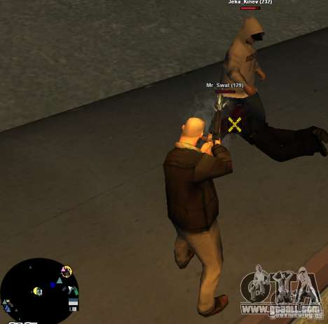 HUD №2 for GTA San Andreas second screenshot