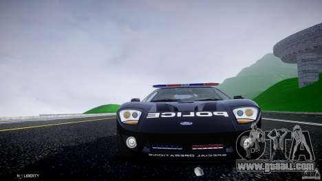 Ford GT1000 Hennessey Police 2006 [EPM][ELS] for GTA 4