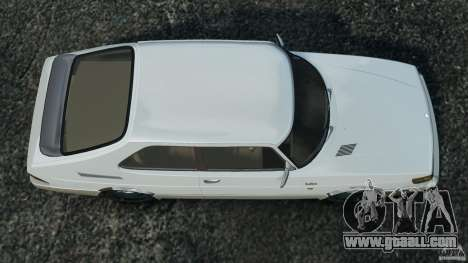 Saab 900 Coupe Turbo for GTA 4 right view
