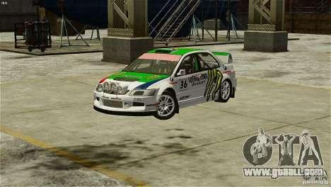 Mitsubishi Lancer Evolution IX RallyCross for GTA 4