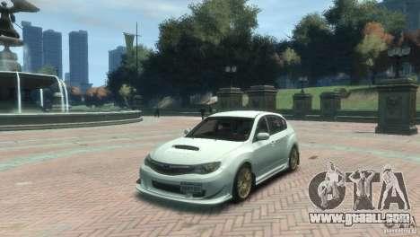 Subaru Impreza WRX STI for GTA 4