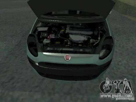 Fiat Punto EVO SPORT 2010 for GTA San Andreas right view