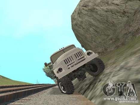 ZIL 131 Main for GTA San Andreas inner view