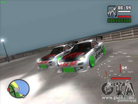 Mazda RX-7 Drift Version for GTA San Andreas right view