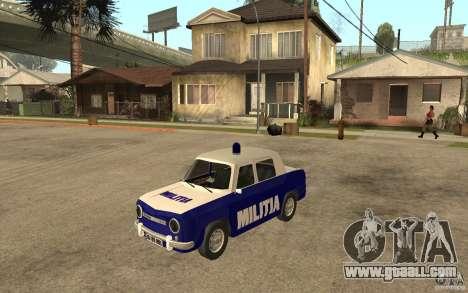 Dacia 1100 Militie for GTA San Andreas