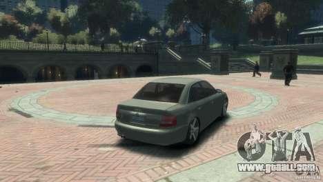 Audi S4 for GTA 4 left view