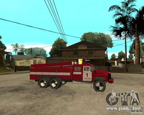 ZIL 133GÂ AC fire for GTA San Andreas right view