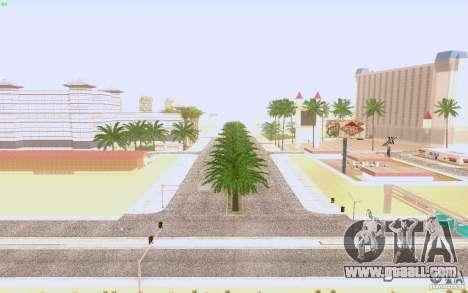 HQ asphalt in Las Venturase for GTA San Andreas third screenshot