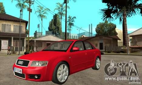 Audi S4 2004 for GTA San Andreas