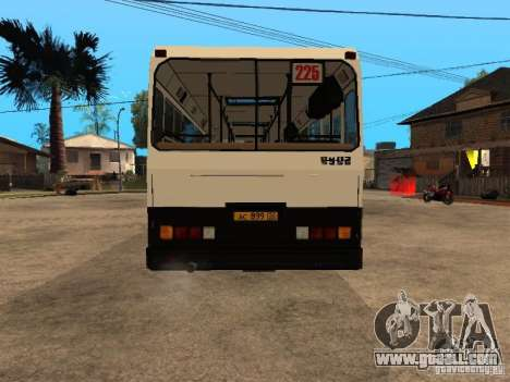 LIAZ 5256.00 for GTA San Andreas side view