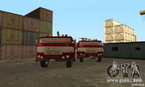 IFA Fire for GTA San Andreas left view