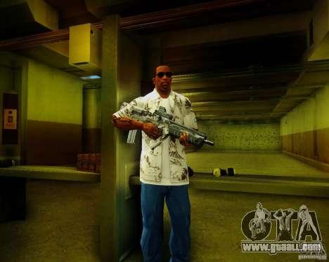 Tavor Tar-21 Digital for GTA San Andreas third screenshot