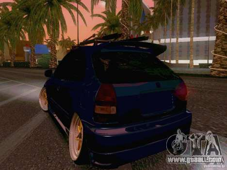 Honda Civic JDM Hatch for GTA San Andreas right view
