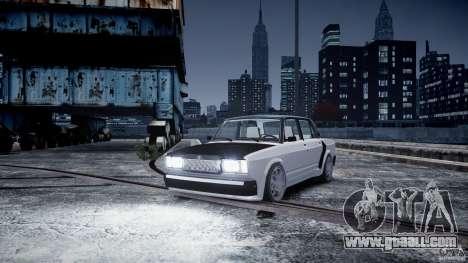 ВАЗ 2107 Drift for GTA 4