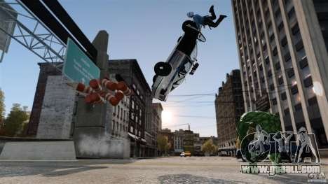 Hulk script for GTA 4 second screenshot