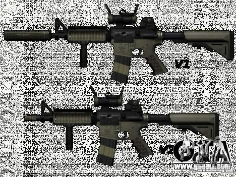 M4 from Call of Duty: Modern Warfare for GTA San Andreas