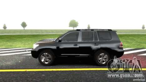 Toyota Land Cruiser 200 RESTALE for GTA 4 left view
