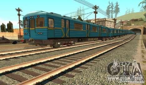 Metro type HEDGEHOG for GTA San Andreas