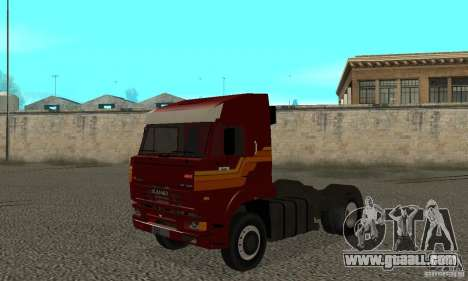 KAMAZ 5460 Skin 2 for GTA San Andreas left view