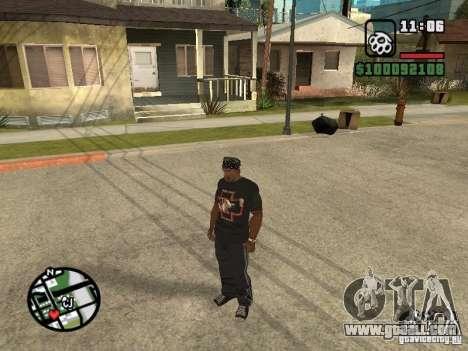 Rammstein t-shirt v2 for GTA San Andreas third screenshot