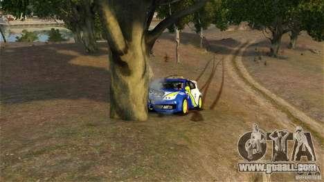Subaru Impreza WRX STI Rallycross BFGoodric for GTA 4 side view