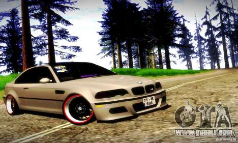 BMW M3 JDM Tuning for GTA San Andreas interior