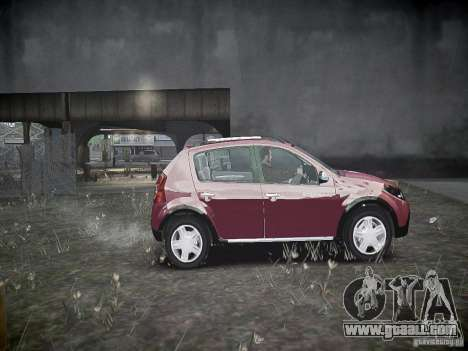 Dacia Sandero Stepway for GTA 4 inner view