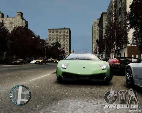 Lamborghini Murcielago LP 670-4 SuperVeloce 2010 for GTA 4 inner view