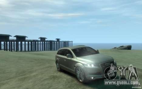 Audi Q7 for GTA 4 back view