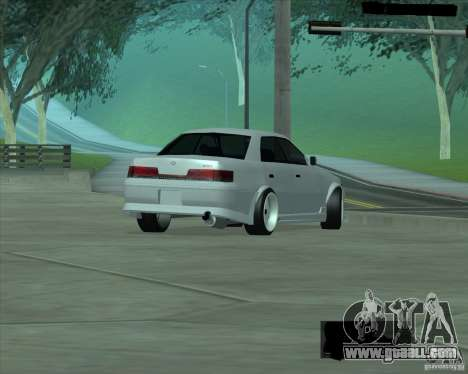 Toyota Mark II Tuning for GTA San Andreas right view