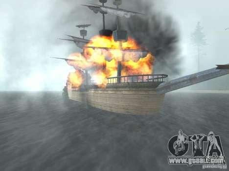 Pirate ship for GTA San Andreas third screenshot