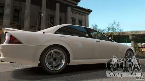 Schafter LT for GTA 4 back left view