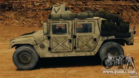 HMMWV M1114 v1.0 for GTA 4 left view