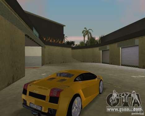 Lamborghini Gallardo v.2 for GTA Vice City right view