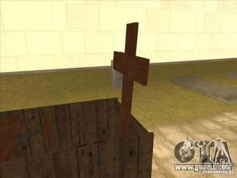 Jesus Kistenmobil for GTA San Andreas left view